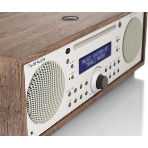 Tivoli Audio Music System Bluetooth Speaker Radio | Walnut MSYBTCLA