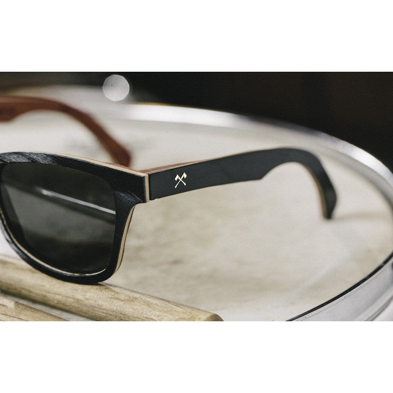 Shwood x Atlantic Records Canby Select Sunglasses | Grey Polarized