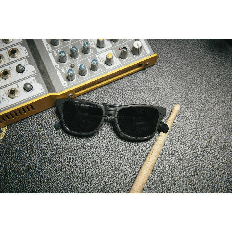 Shwood x Atlantic Records Canby Fifty Sunglasses | Grey Polarized