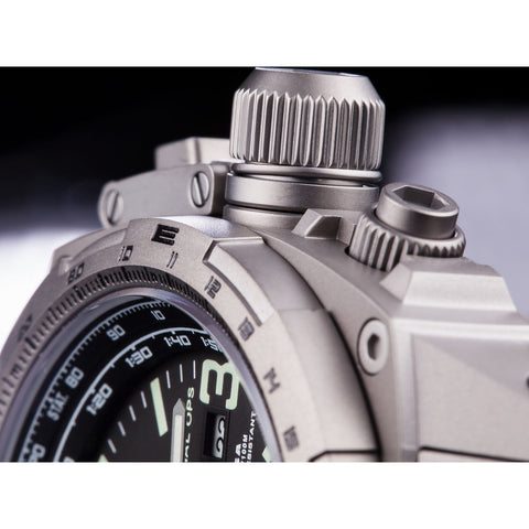 MTM Special Ops Cobra 44 Watch | Gray Titanium/Black/Nylon Green