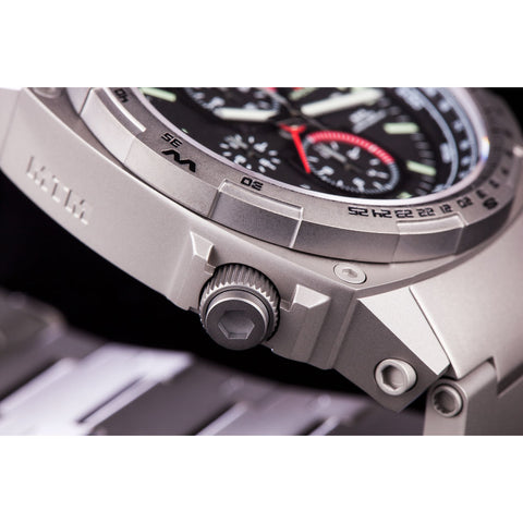 MTM Special Ops Cobra 44 Watch | Gray Titanium/Black/Titanium Band