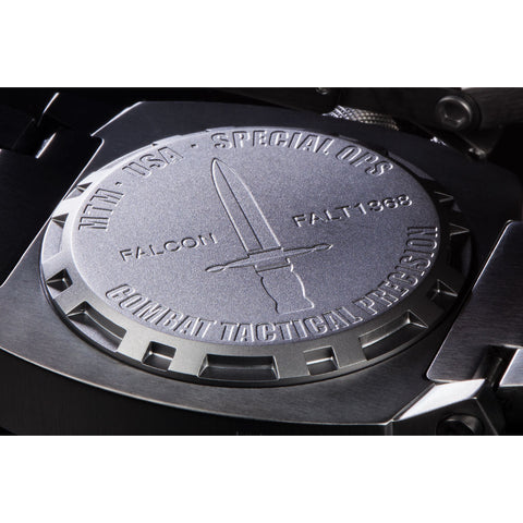 MTM Special Ops Falcon Watch | Black Titanium