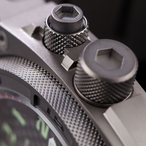 MTM Special Ops Falcon Watch | Gray/Black Rubber I