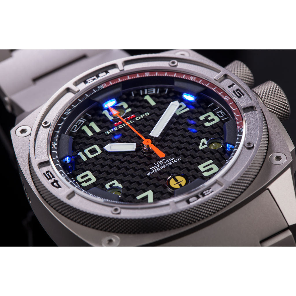 MTM Special Ops Falcon Watch | Gray Titanium