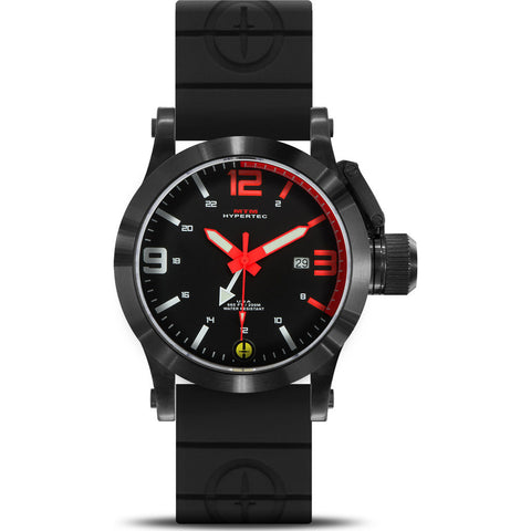 MTM Special Ops Hypertec 44 Watch | Black/Red/Black Rubber II