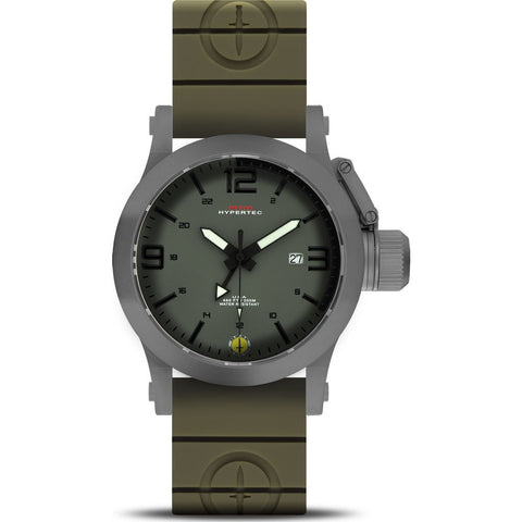 MTM Special Ops Hypertec 44 Watch | Gray/Green-Black/Green Rubber II