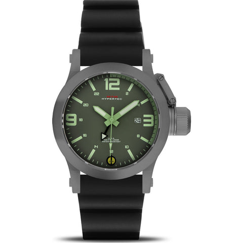 MTM Special Ops Hypertec 49 Watch | Gray/Green-Lumi/Black Rubber I