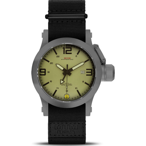 MTM Special Ops Hypertec 49 Watch | Gray/Tan/Black Nylon