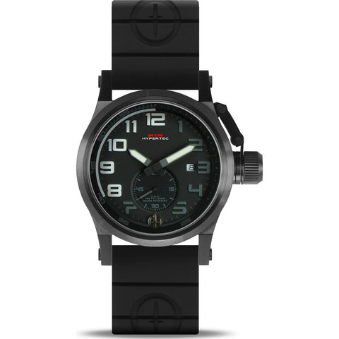 MTM Special Ops Hypertec Chronograph Watch | Black/White/Black Rubber II
