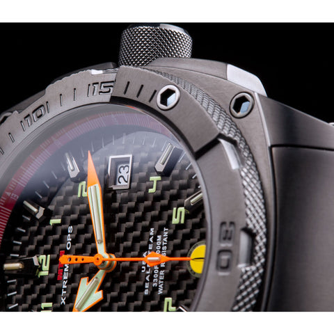 MTM Special Ops Seal Watch | Black Titanium