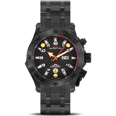 MTM Special Ops Vulture Watch | Black Titanium