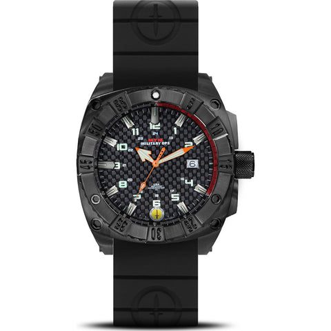 MTM Special Ops Warrior Watch | Black Titanium/Black/Black Rubber II