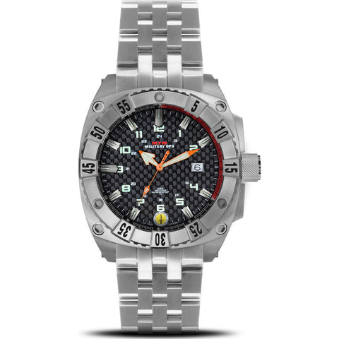 MTM Special Ops Warrior Watch | Silver Titanium/Black