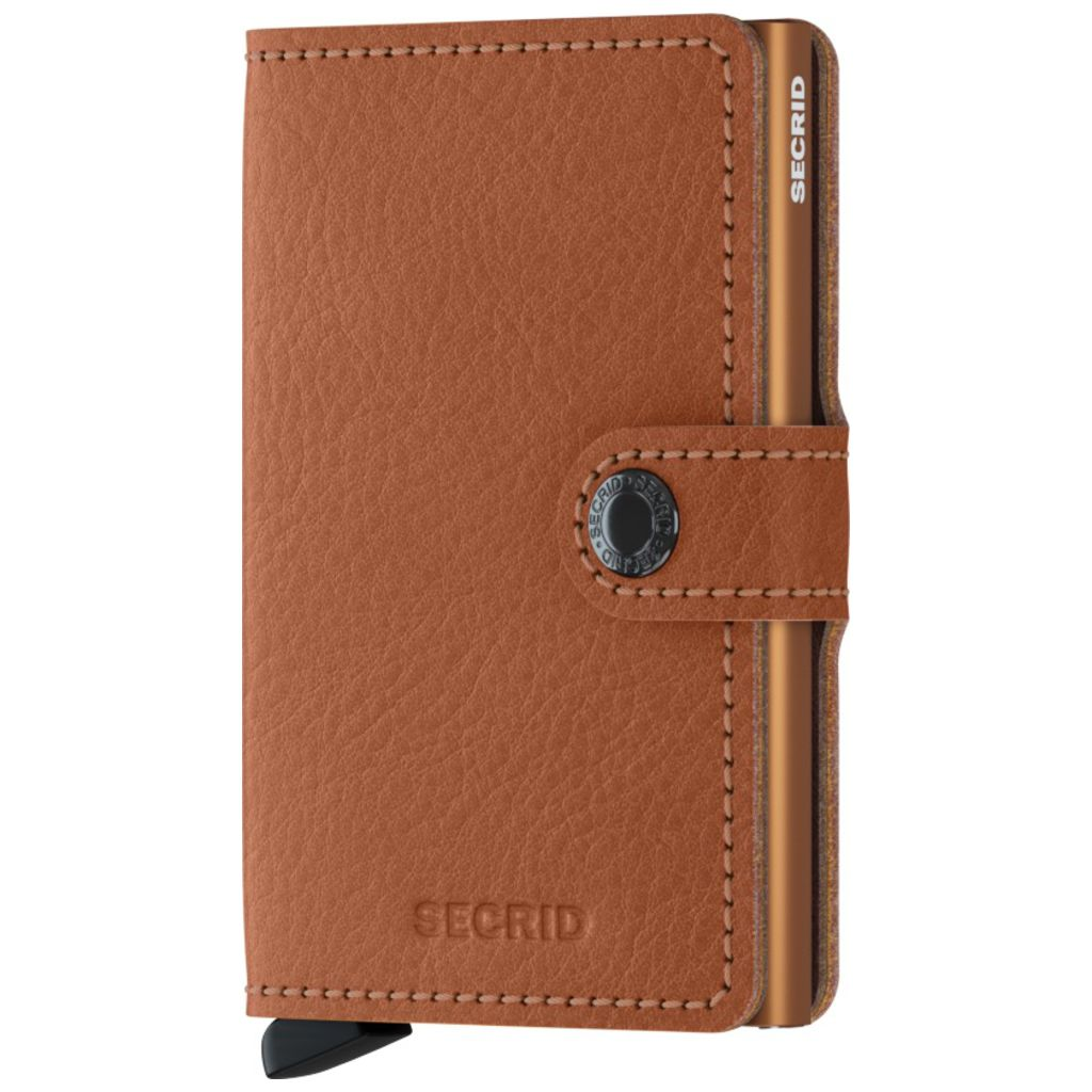 Secrid Mini Wallet Vegetable Tanned | Caramello
