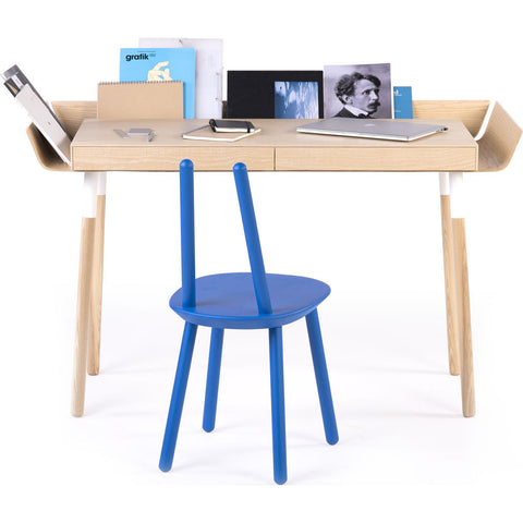 EMKO My Writing Desk w/ 2 Drawers | Ash