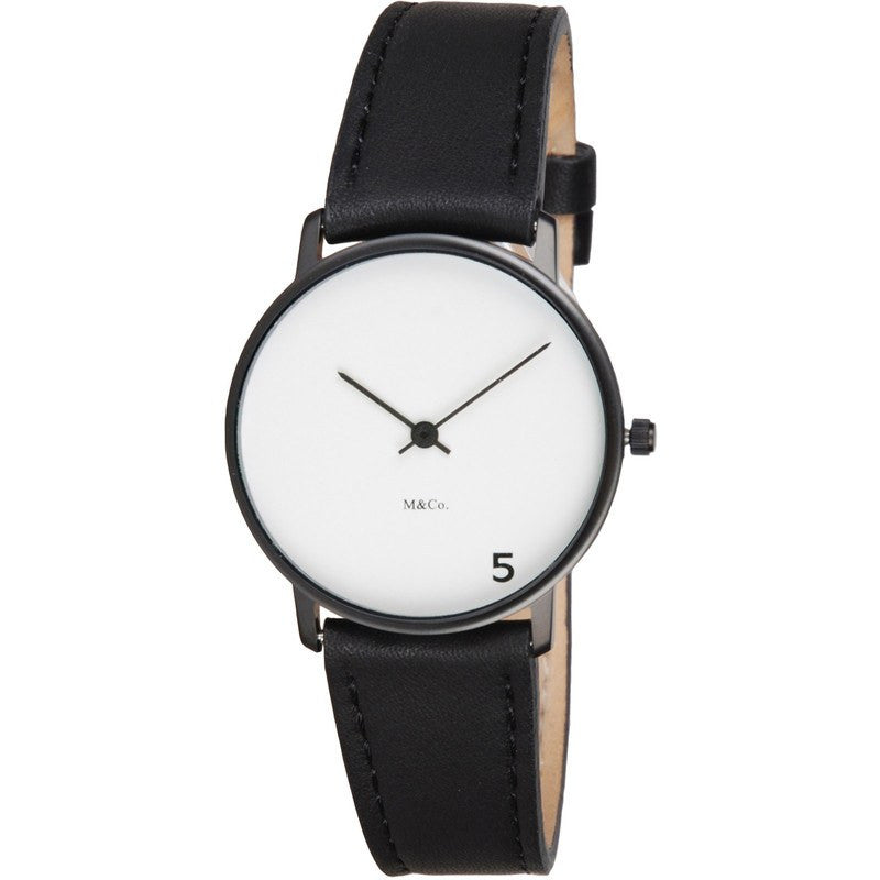 Projects Watches M&Co 5 O'Clock Happy Hour Watch | Black