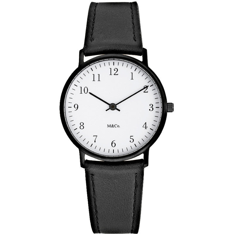 Projects Watches M&Co Bodoni Watch | Classic Black