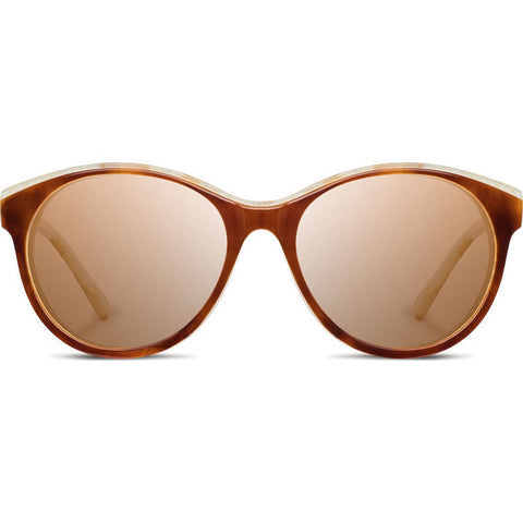 Shwood Madison Acetate Sunglasses | Salted Caramel/Mahogany - Brown WWAMSCMHB