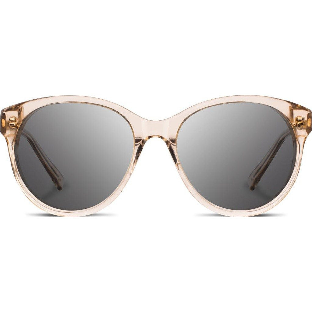 Shwood Madison Acetate Sunglasses | Champagne & Scarlet Flower / Grey Polarized WWAMCSFGP