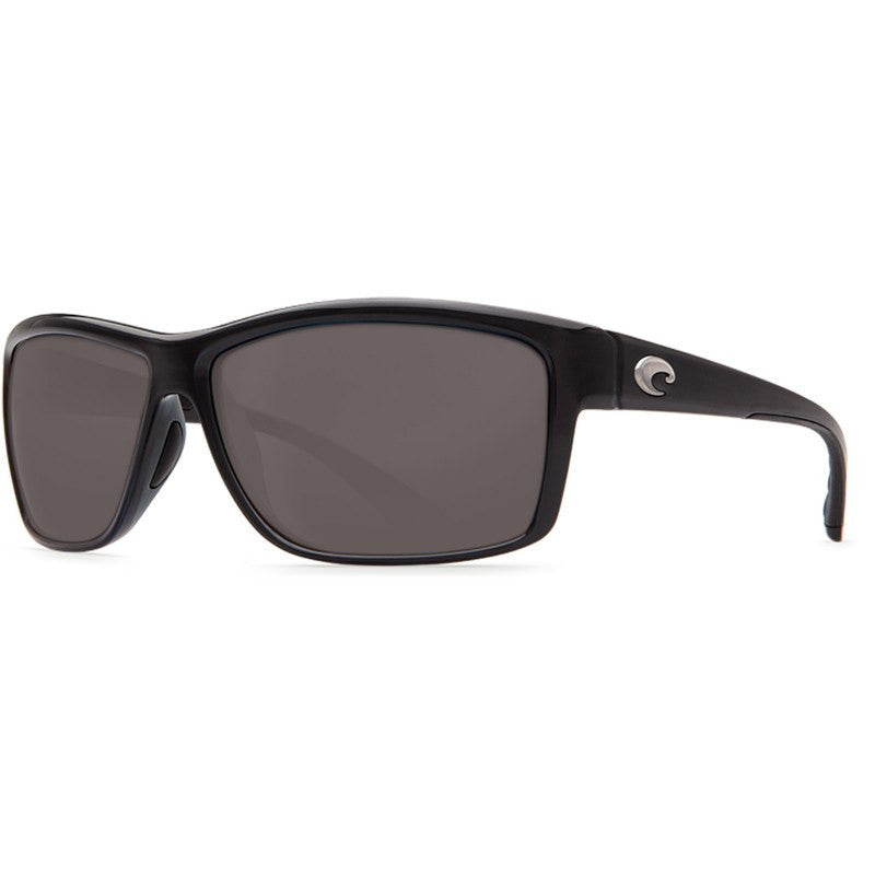 Costa Mag Bay Shiny Black Men's Sunglasses | Gray 580G