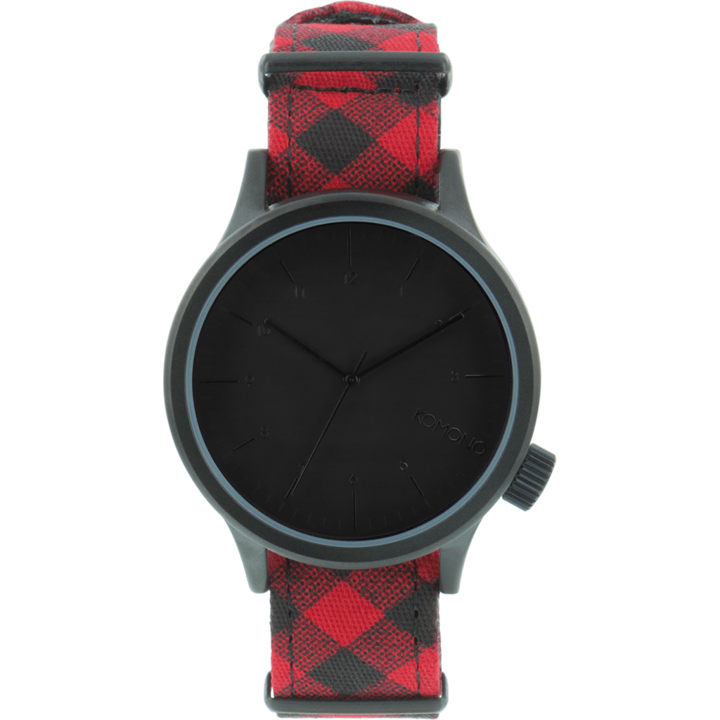 Komono Magnus Print Watch | Woodsman