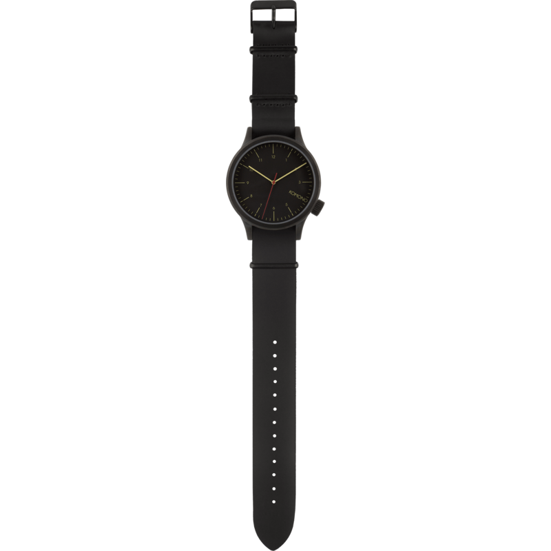 Komono Magnus Watch | Black Black KOM-W1900