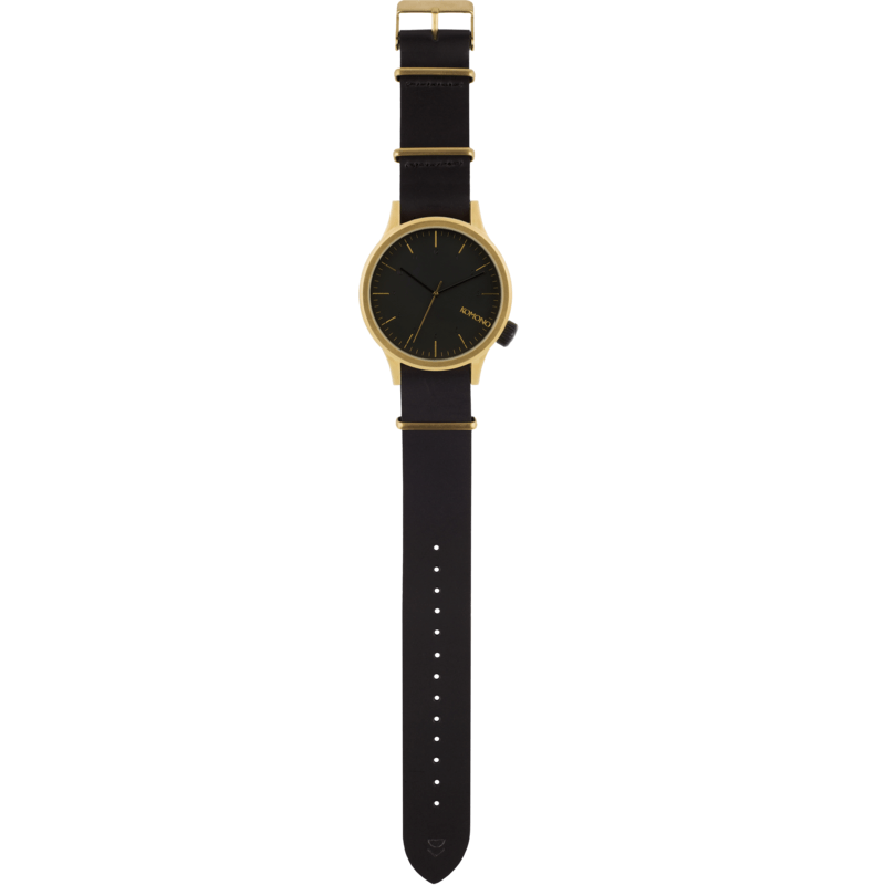 Komono Magnus Watch | Gold Black KOM-W1906