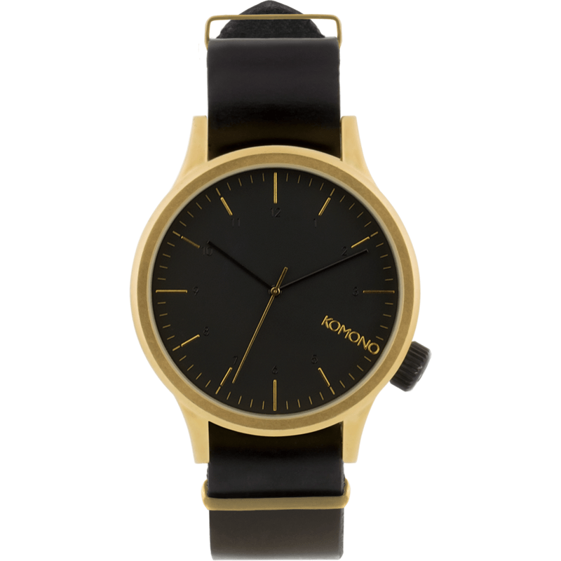Komono Magnus Watch | Gold/Black KOM-W1906