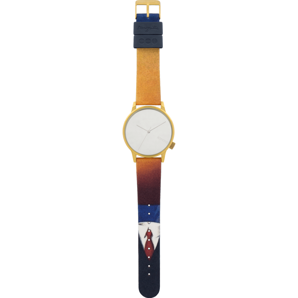 Komono x Magritte Winston Watch | Art of Living KOM-W2883