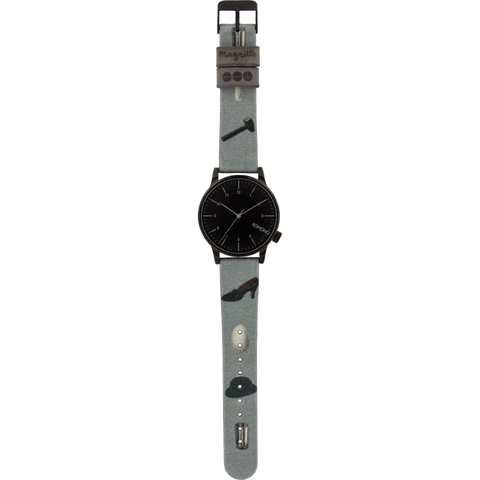 Komono x Magritte Winston Watch | Dream's Key KOM-W2887