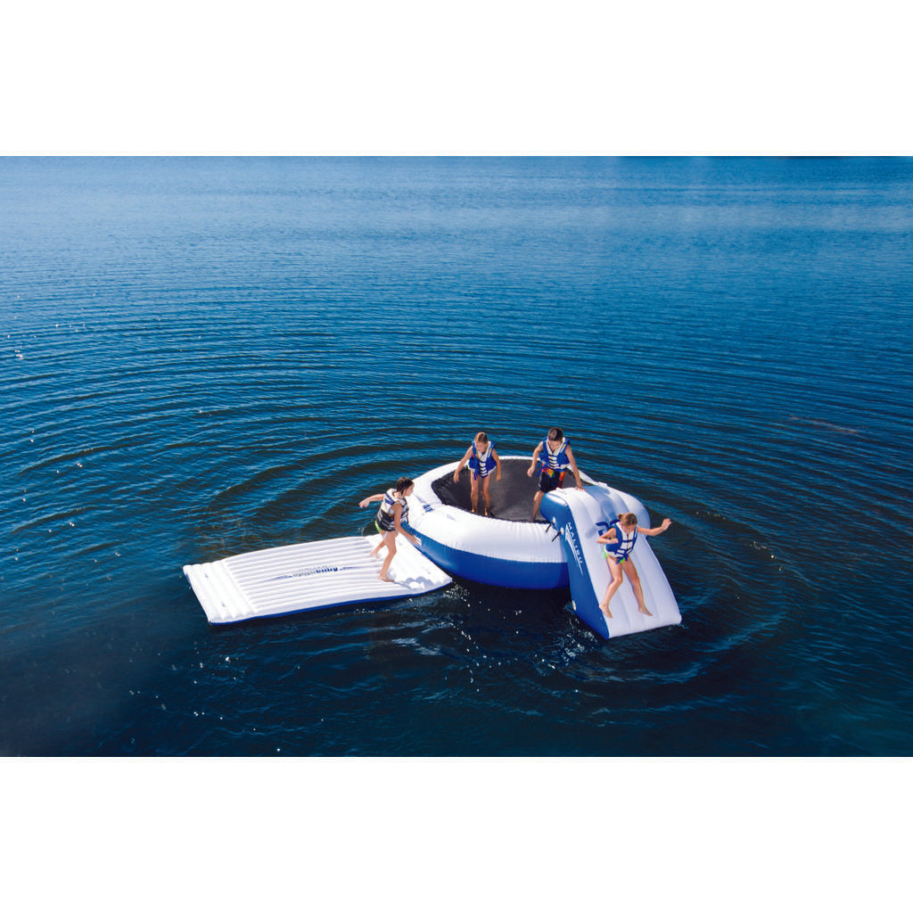 Aquaglide Malibu Aquapark Inflatable Swim Platform | Blue/White 58-5214018