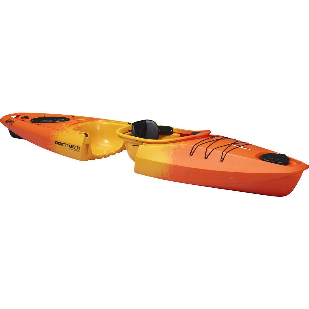 Point 65 Martini GTX Modular Solo Kayak | Yellow/Orange