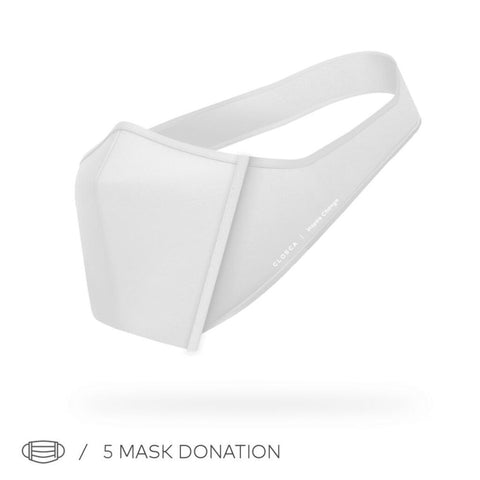 Closca Adjustable Face Mask | White