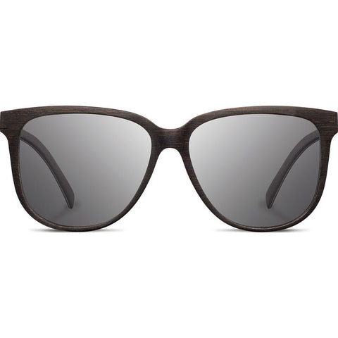 Shwood Mckenzie Wood Sunglasses | Dark Walnut - Grey WWOM3DWG