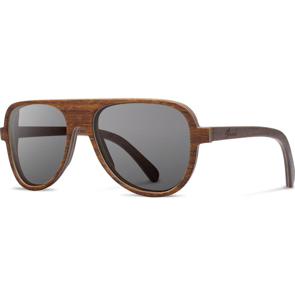 Shwood Medford Original Sunglasses | Walnut / Grey WOMWG