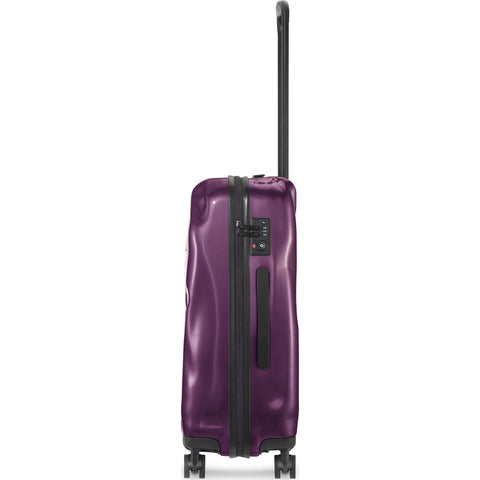 Crash Baggage Bright Medium Trolley Suitcase | Purple Electric CB112-23