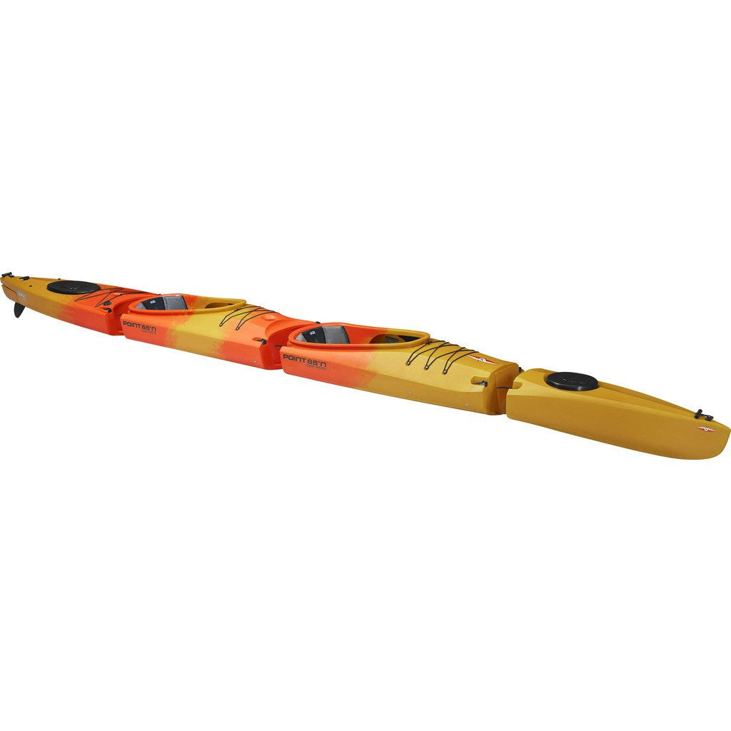 Point 65 Mercury GTX Modular Kayak Back Section | Yellow/Orange
