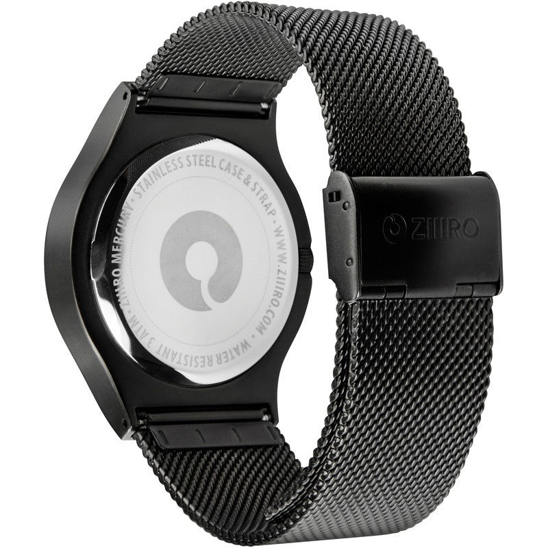 ZIIIRO Mercury Black - Ocean Watch | Z0002WB1