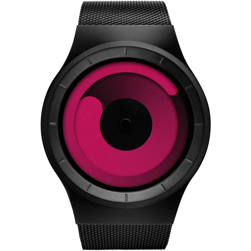 ZIIIRO Mercury Black - Magenta Watch | Z0002WB2