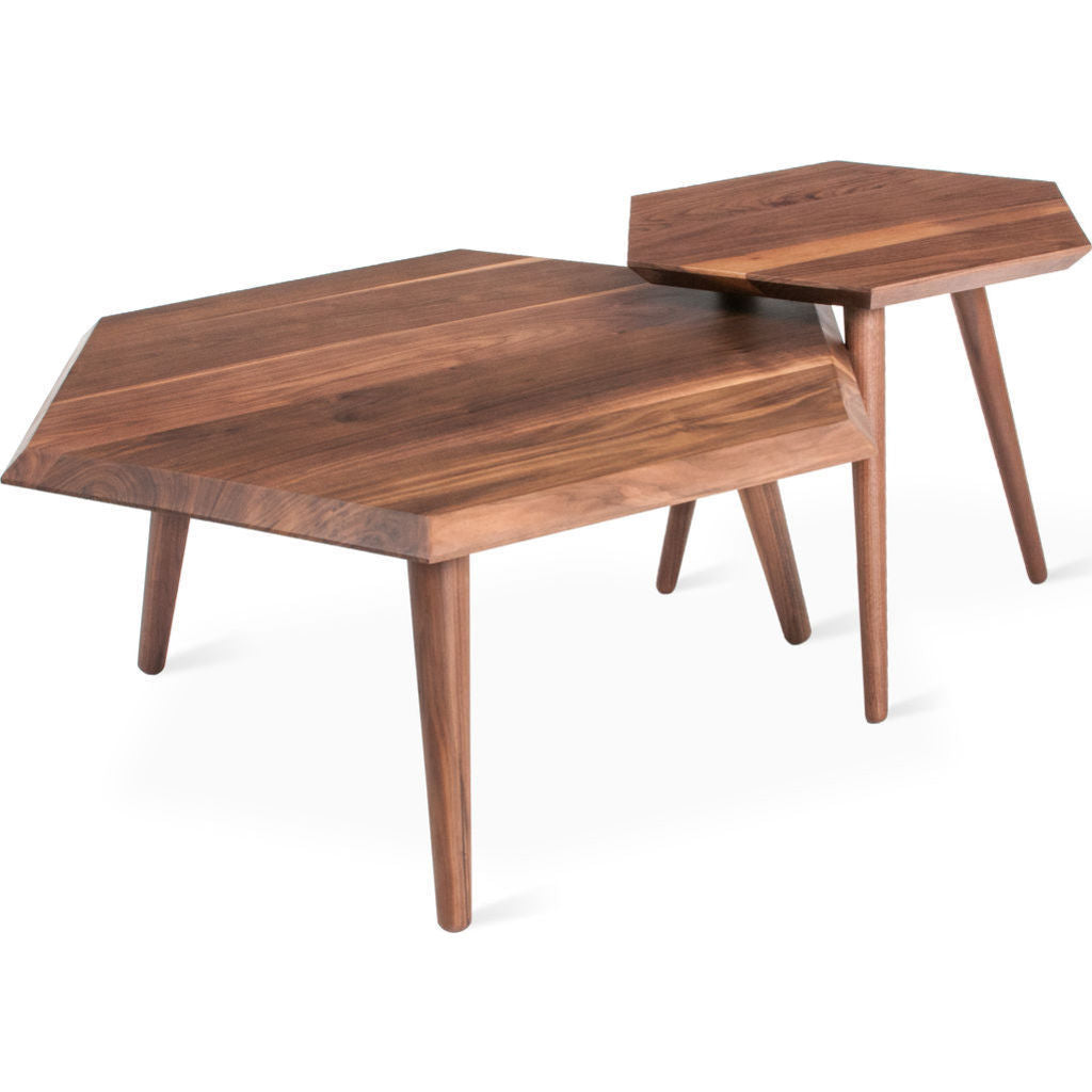 Gus* Modern Metric Coffee Table | Walnut ECCTMETR-wn