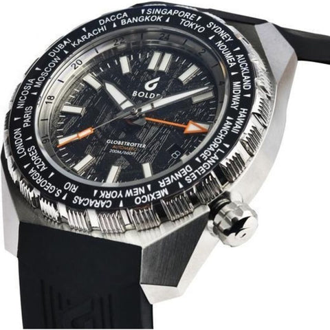 Boldr Globetrotter GMT Dive Watch | Meteoblack