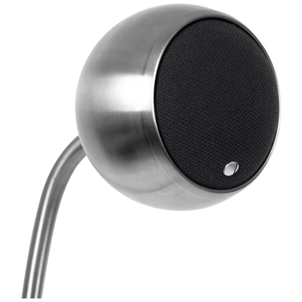 Gallo Acoustics Nucleus Micro Speaker | Stainless Steel GM1SS