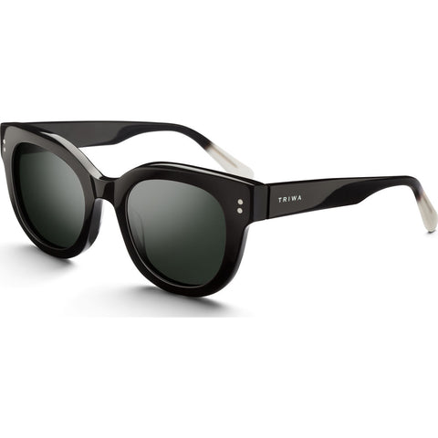 Triwa Klara Sunglasses | Midnight SHAC222