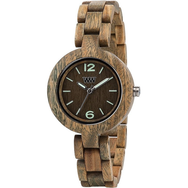 WeWood Mimosa Verawood Wood Watch | Army