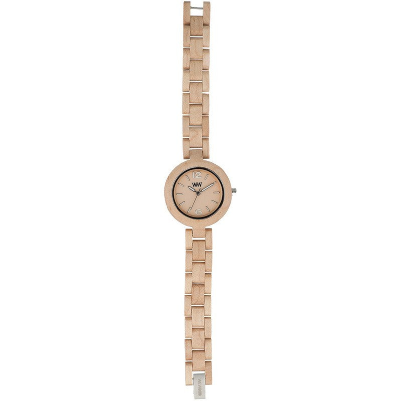 WeWood Mimosa Maple Wood Watch | Beige