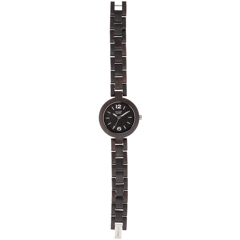 WeWood Mimosa Blackwood Wood Watch | Black