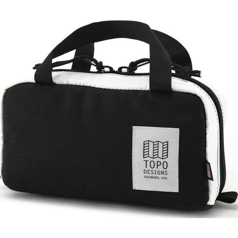 Topo Designs Minimal Hip Pack Bag | Black/White