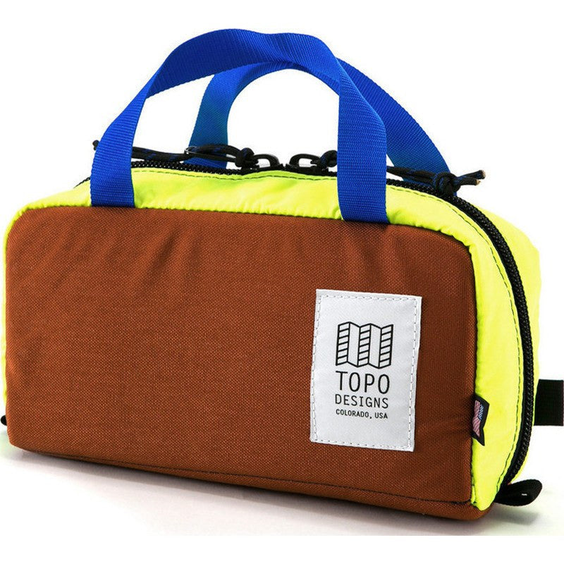 Topo Designs Minimal Hip Pack Bag | Clay/Yellow
