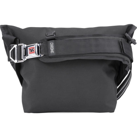 Chrome Mini Metro Left-Handed Messenger Bag | Black/Black