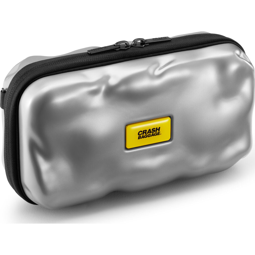 Crash Baggage Hard Mini Travel Icon Carry Case | Silver Cb370-21